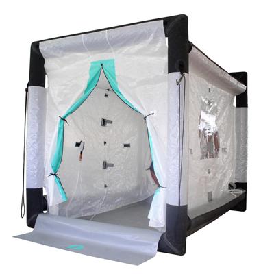 Gumotex GTX-S07 inflatable decontamination shower