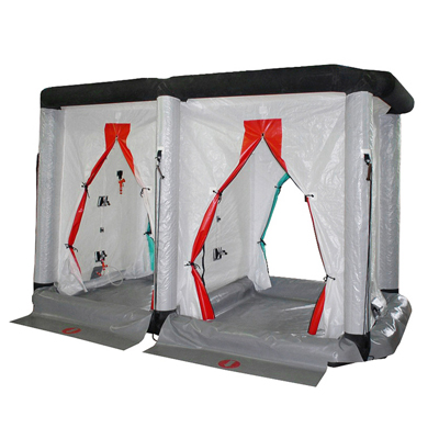 Gumotex GTX-S09 inflatable decontamination shower