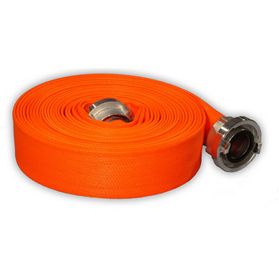 Haberkorn Flammenstar F layflat hose with polyester jacket