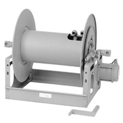 Hannay Reels 7128-33-34 hose reel for dual-agent applications