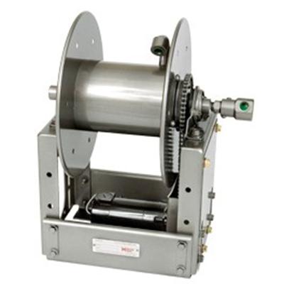 Hannay Reels ESF1520-14-16hose reel for utility or breathing air hose