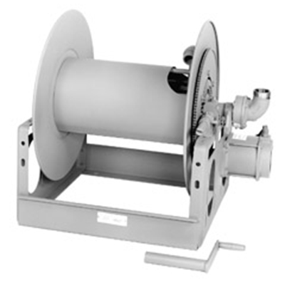 Hannay Reels FF28-25-26 hose reel for large booster hose