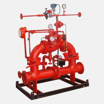 HD Fire Protect DPACK-AD deluge valve system