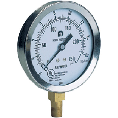 HD Fire Protect HDP pressure gauge