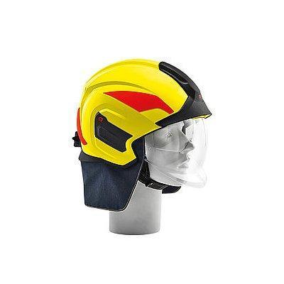 Rosenbauer 157382 HEROS-titan Pro Yellow Structural Fire Fighting Helmet
