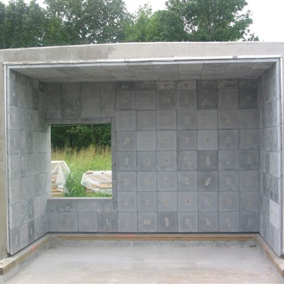 High Temperature Linings BurnPods live fire training structure