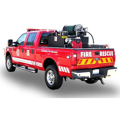 HMA Fire Apparatus PROTEUS 1 ultra-high pressure brush truck