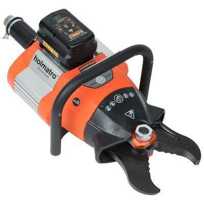 Holmatro BCU 4010 GP battery-powered hydraulic cutter
