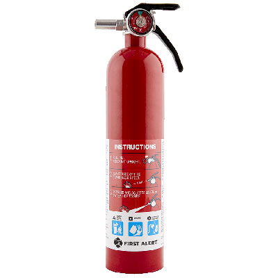First Alert HOME1 rechargeable fire extinguisher