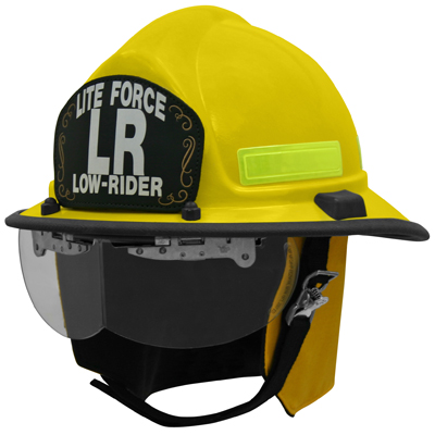 Honeywell First Responder Products Lite Force LR helmet