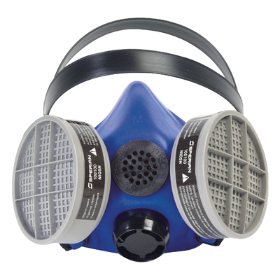 Honeywell First Responder Products Survivair Blue 1 reusable half mask respirator
