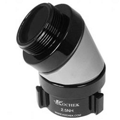 """Kochek HPKE3R3-45 3"""" NH Swivel Rocker Lug Female x 3"""" NH Male 45* High Pressure Elbow"""