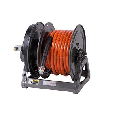 Holmatro Electric Hose Reel HR 4425 ACLO Hose reel with electric rewinding system, CORE left version with 25 m orange hose.