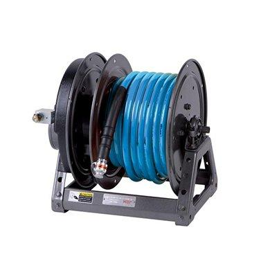 Holmatro Electric Hose Reel HR 4430 ACRB Hose reel with electric rewinding system, CORE right version with 30 m blue hose.