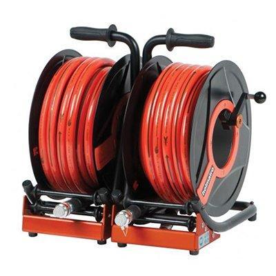 Holmatro Double Hose Reel HR 5520 OO Double hose reel, CORE version, with 20 m orange hose on each side.