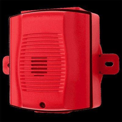 System Sensor HRK Horn, Red, Outdoor (includes plastic weatherproof back box)