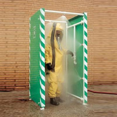 Hughes Safety Showers Ltd DEC-D-29 is a PPE decon shower