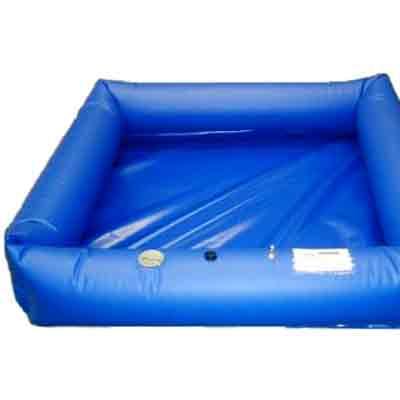 Husky Portable Containment Air Wall Decontamination Pool