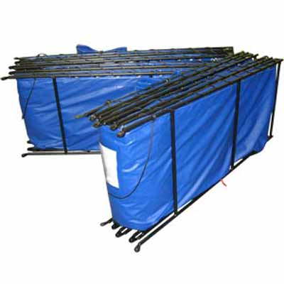 Husky Portable Containment Double Folding Frame Water Tank