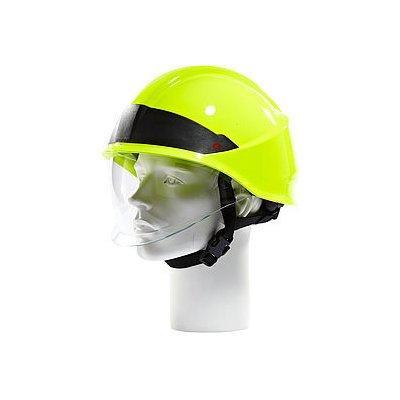 Rosenbauer 157002 HEROS-smart High Visibility Yellow Firefighting Helmet