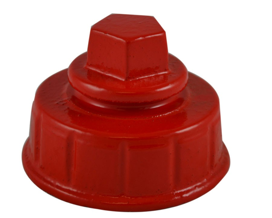 South park corporation HC7304MI HC73, 2.5 Customer Thread Female Hydrant Cap with out Chain, Painted