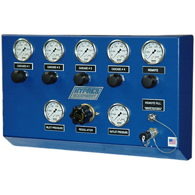 Hypres Equipment B Panel air cascade system