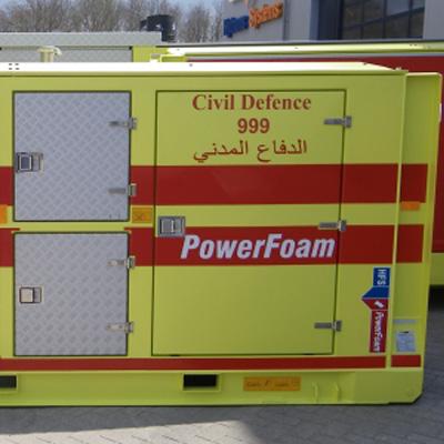 Hytrans PowerFoam water/faom dosage system