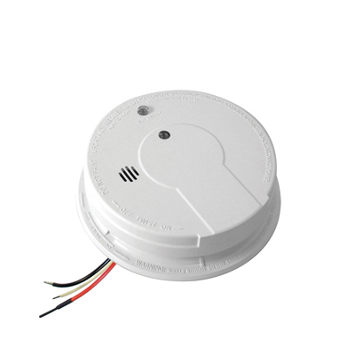 Kidde Fire Systems I12040 AC Hardwired Interconnect Smoke Alarm With Hush™