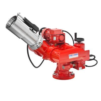 InnoVfoam FWM-4-EL remotely operated fire water monitor