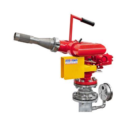InnoVfoam FWM-4 water turbine operated fire monitor