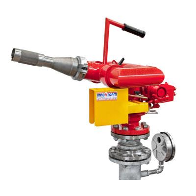 InnoVfoam FWM-8D water turbine operated fire monitor