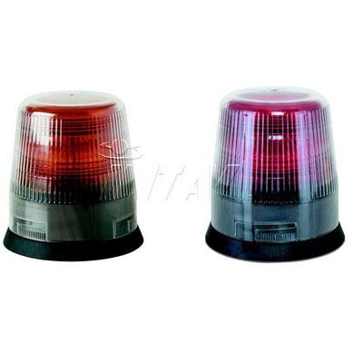 Intav Micros Mithos Amber and Red low profile flashing light