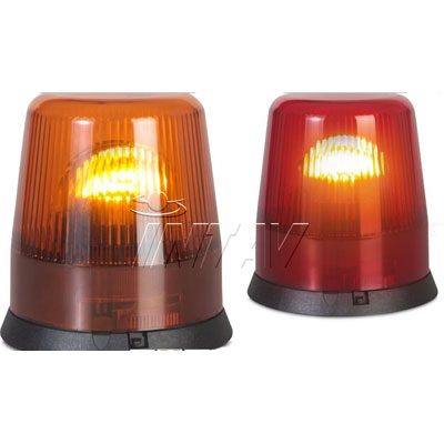 Intav Revoluxion Amber and Red rotating signalling device