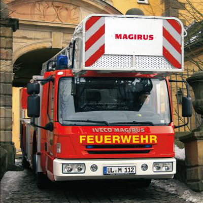 IVECO Magirus M 32 L-AT lowlevel turntable ladder