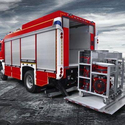 IVECO Magirus RW1 light rescue vehicle