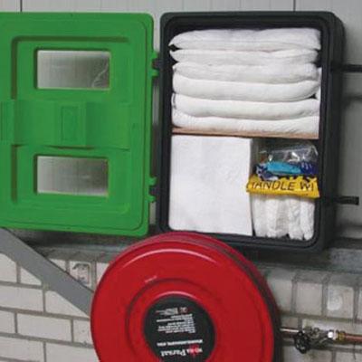 Jonesco JBDA72 front loader extinguisher box