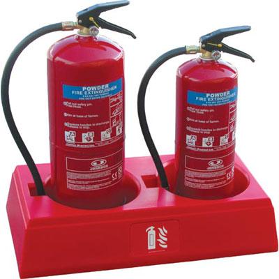 Jonesco JFP2 fire extinguisher stand