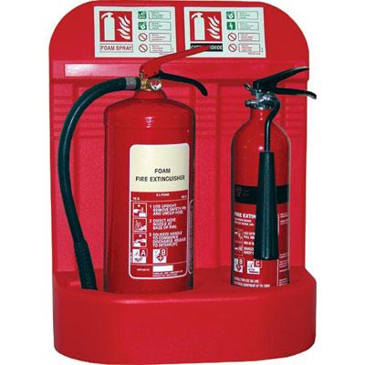 Jonesco JFP7 fire extinguisher stand