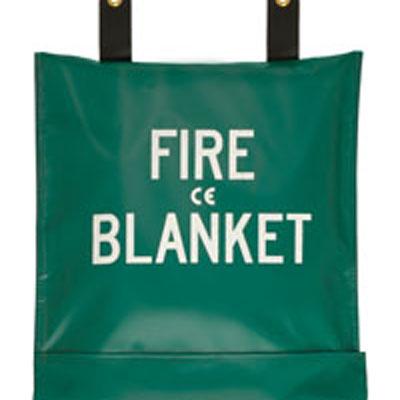JSA-1003-B is a vinyl coated nylon case for fire blankets