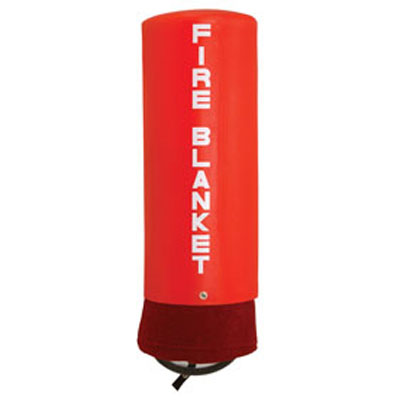JSA-1006 kit consists of a fire blanket and PVC Plastic Canister