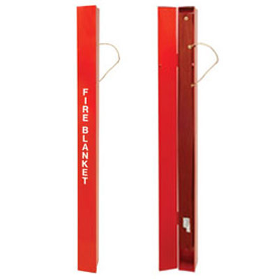 JSA-1010 is a wrap around fire blanket kit to provide maximum fire protection