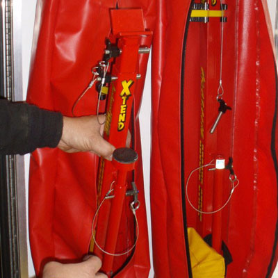 Strut Exterior Storage Bag is an optional equipment for mounting struts outside