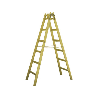 JUST Leitern AG 12-013 wooden step ladder