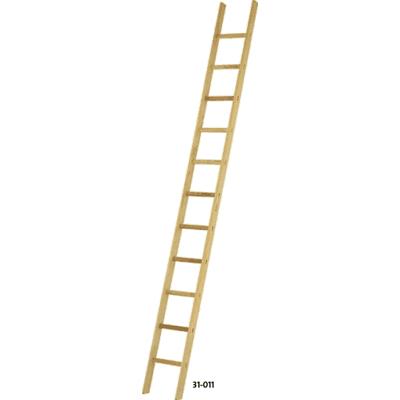 31-011 Wooden rung leaning ladder