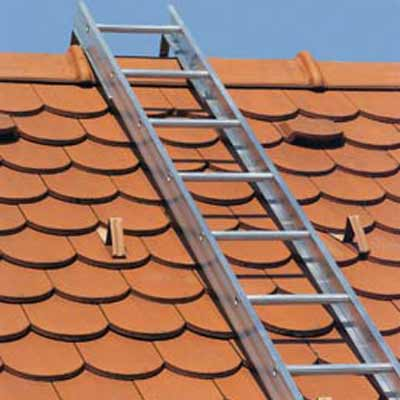 JUST Leitern AG 60-201 roof ladder