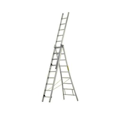 JUST Leitern AG R-512 aluminium multi-purpose ladder