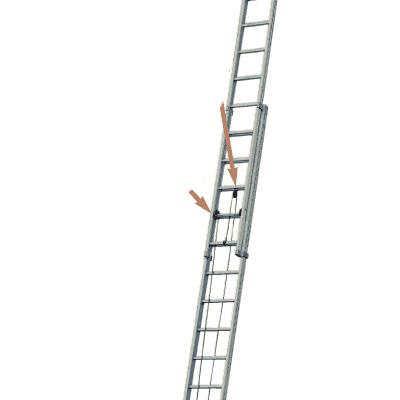 JUST Leitern AG R-614 aluminium extention ladder