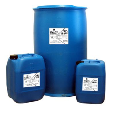 K. V. Fire Chemicals KV-LITE AR-AFFF foam concentrate