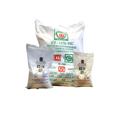 K. V. Fire Chemicals KV-LITE SBC dry chemical powder
