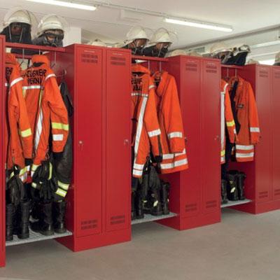 Type FLORIAN-OG a open fire department cabinet
